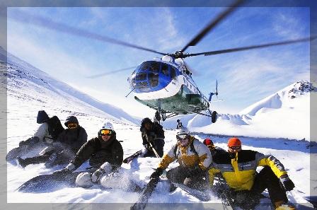 "Тур ""Хели ски в Узбекистане"" 2013"