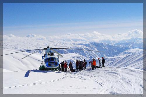 Тур для экстремалов - Хели-ски в Узбекистане